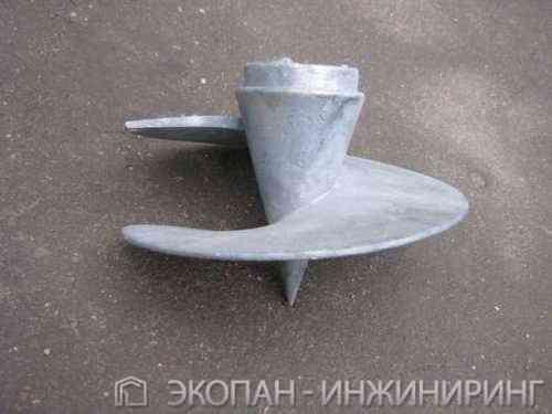 литой наконечник