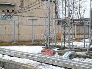 Монтаж винтовых свай d133мм с литым наконечником под подстанцию, Орловская область