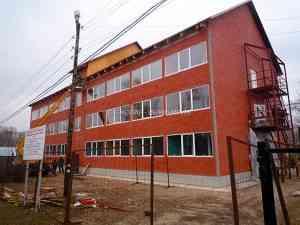 Многоквартирный жилой дом винтовых сваях, Московская область. Фундамент на винтовых сваях.