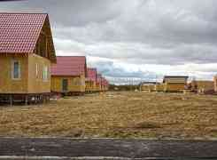 Строительство поселка по технологии СИП (SIP). Фундаменты на винтовых сваях.